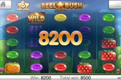Reel Rush Touch | NetEnt - Coming Soon to Mobile