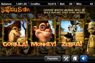 Safari Sam Free Spins