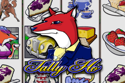 Tally Ho Mobile Slot Logo
