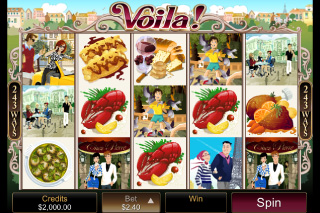 Voila Mobile Slot Screenshot