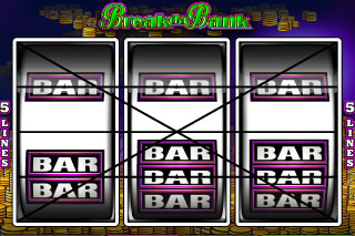 Break da Bank Mobile Slot Screenshot