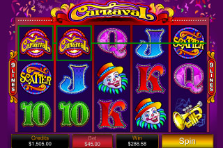 Carnaval Mobile Slot Win