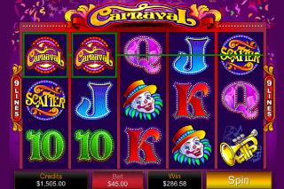 Carnaval Mobile Slot Win