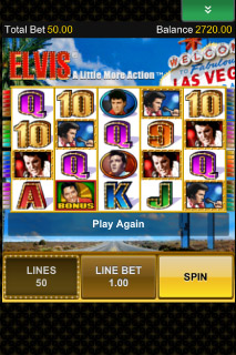 Elvis Mobile Slot Screenshot