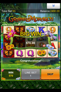 Grand Monarch Big Win