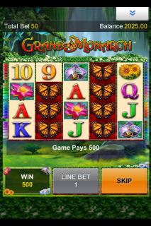 Grand Monarch Mobile Slot Screenshot