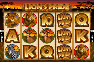 Lion's Pride Mobile Slot Screenshot