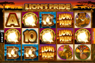 Lion's Pride Mobile Slot Win