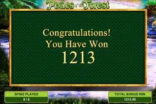 Pixies of the Forest Big Win