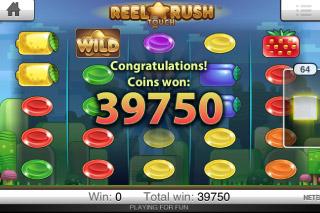 Reel Rush Touch Big Win