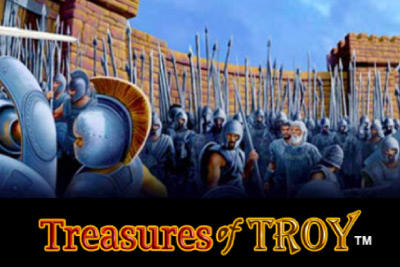 Treasures of Troy Mobile Slot Screenshot
