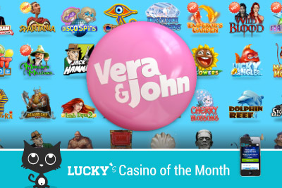 Vera&John Mobile Casino of the Month - August