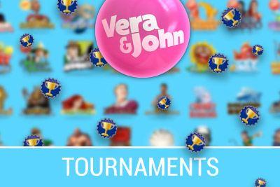 Play Mobile Slot Tournaments at Vera&John Mobile Casino