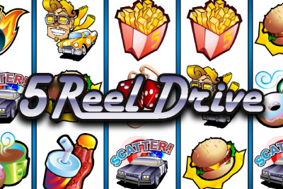 5 Reel Drive Mobile Slot Logo