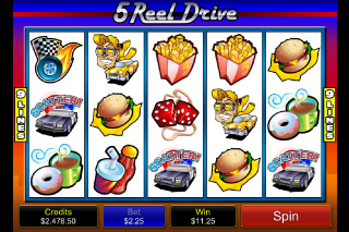5 Reel Drive Mobile Slot Screenshot