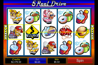 5 Reel Drive Wild