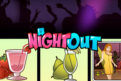 A Night Out Mobile Slot Logo