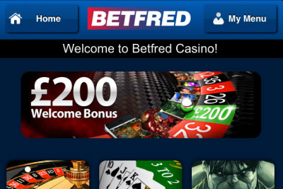 BetFred Mobile Casino of the Month - October