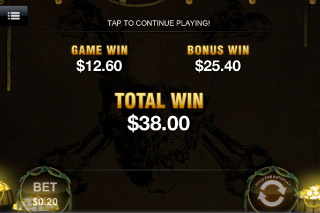 Captain's Treasure Mobile Slot Win