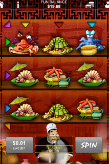 Chinese Kitchen Mobile Slot Screenshot