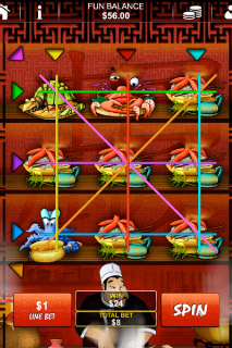 Chinese Kitchen Mobile Slot Win