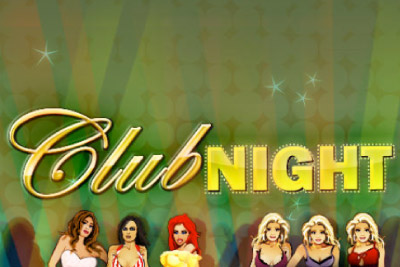 Club Night Mobile Slot Logo