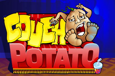 Couch Potato Mobile Slot Logo