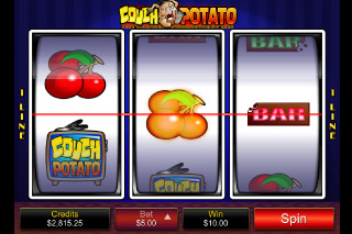 Couch Potato Mobile Slot Screenshot