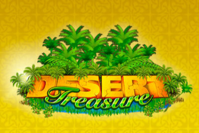 Desert Treasure Mobile Slot Logo