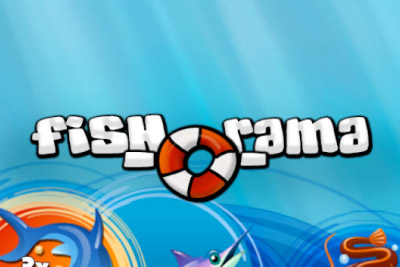 Fish-O-Rama Mobile Slot Logo