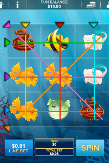 Fish-O-Rama Mobile Slot Screenshot