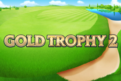 Gold Trophy 2 Mobile Slot Logo