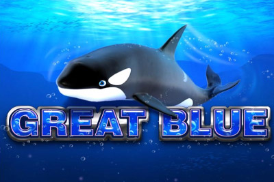 Great Blue Mobile Slot Logo
