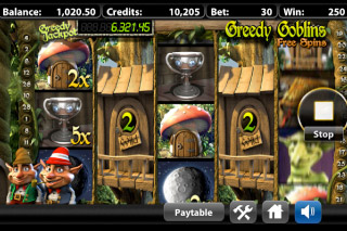 Greedy Goblins Mobile Slot Expanding Wilds