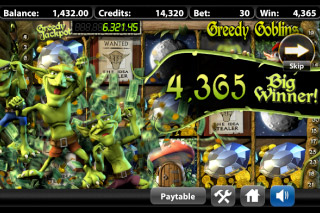 Greedy Goblins Mobile Slot Big Winner