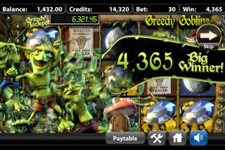 Greedy Goblins Mobile Slot Big Winner