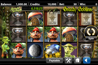 Greedy Goblins Mobile Slot Screenshot