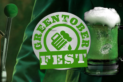 Get your free spins in Mr Green's Greentober Fest free spins giveaway