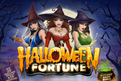 Halloween Fortune Mobile Slot Logo