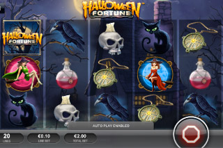 Halloween Fortune Mobile Slot Screenshot