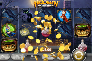 Halloween Fortune Mobile Slot Win