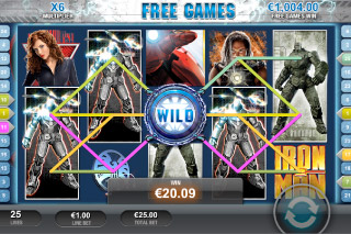 Iron Man 2 Mobile Slot Free Games Wild