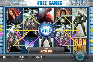 Iron Man 2 Mobile Slot Free Games Wild