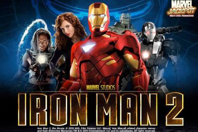 Iron Man 2 Mobile Slot Logo