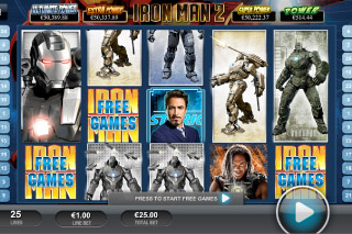 Iron Man 2 Mobile Slot Screenshot