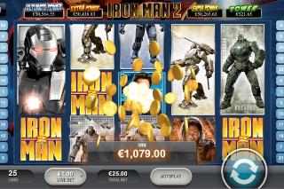 Iron Man 2 Mobile Slot Win