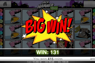 Jack Hammer Mobile Slot Big Win