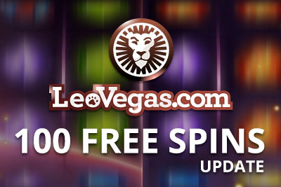 Leo Vegas Mobile Casino Bonus - 100 Free Spins + £/€700
