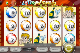 Lotto Madness Mobile Slot Screenshot
