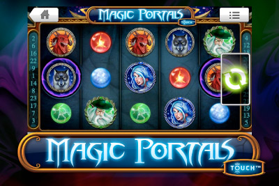 Magic Portals Touch - New Mobile Slot from NetEnt Coming in October